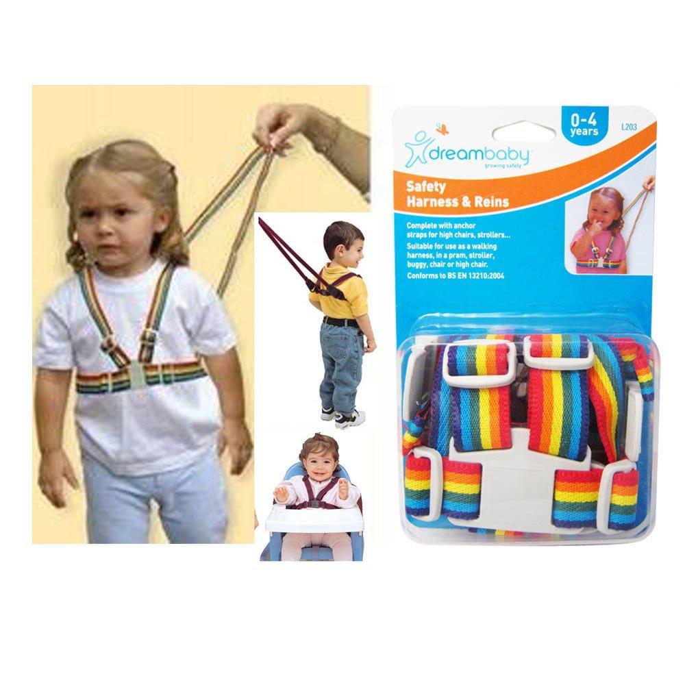 Amazon.com : Dreambaby Leash Safety Harness Reins Baby Toddler Walking Kid Strap Keeper Belt : Toddler Safety Harnesses And Leashes