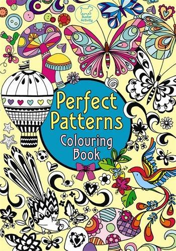 Perfect Patterns Colouring Book (Pretty Pattern)