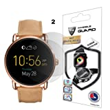 Fossil Q Wander Screen Protector (2 Units) Invisible Ultra HD Clear Film Anti Scratch Skin Guard - Smooth / Self-Healing / Bubble -Free By IPG (Color: Clear)