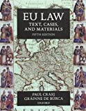 img - for EU Law: Text, Cases, and Materials book / textbook / text book