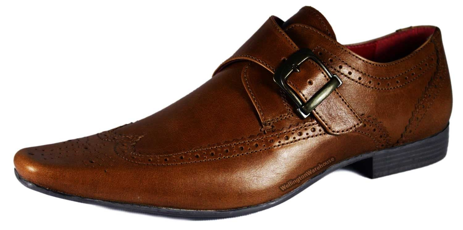 Get Discounts on SKU#SM Zota Brand Men's Oxford Leather Brown Pointed Toe Shoes.