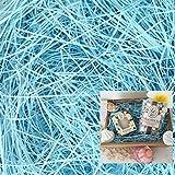 【ラッピング プロ仕様】CCL クッション材(紙パッキン)10kg(1kg×10個) ブルー(1mm幅)