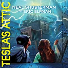 Tesla's Attic: The Accelerati Trilogy, Book 1 (       UNABRIDGED) by Neal Shusterman, Eric Elfman Narrated by Vikas Adam