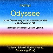 Odyssee Audiobook by  Homer Narrated by Hans Jochim Schmidt