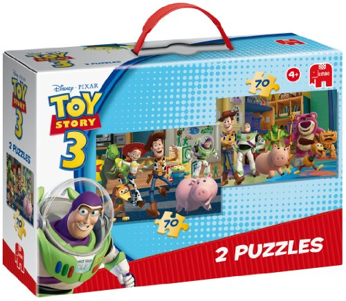 Disney Pixar Toy Story 2 x 70 Piece Jigsaw Puzzles in a Box