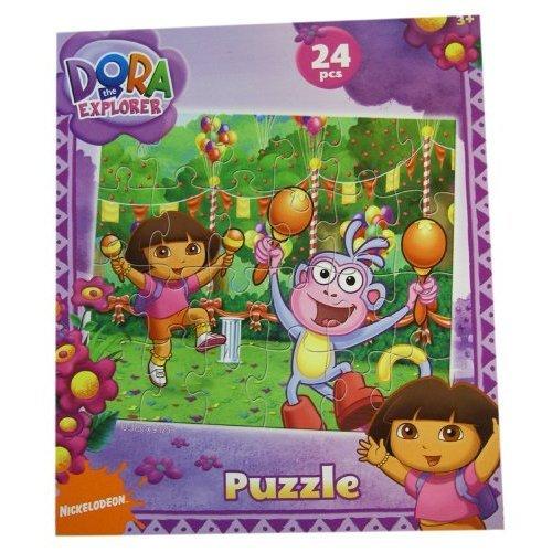 Cheap Dora The Explorer Dora The Explorer Puzzle – 24cps Dora & Boots Puzzles (Garden Fun) (B002Z64N46)