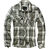 BRANDIT Check Shirt Black-Grey L