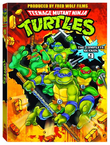 Teenage Mutant Ninja Turtles 9 [DVD] [Import]