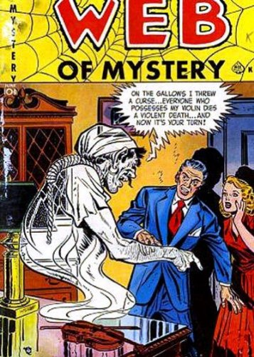 Web of Mystery - 3 cover