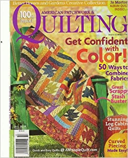 American Patchwork Quilting October 2009 Better Homes