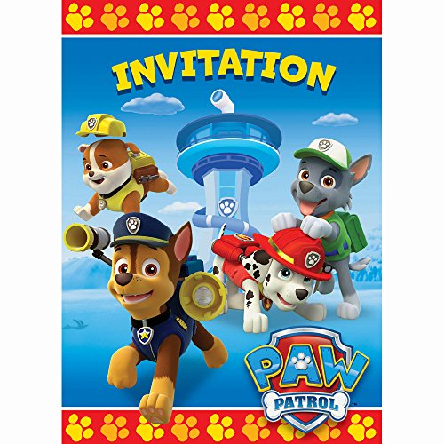 New PAW Patrol Invitations, 8ct