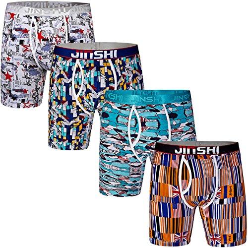 jinshi-mens-4-pack-comfort-flex-bamboo-trunks-active-long-leg-performance-boxer-briefs-size-3xl