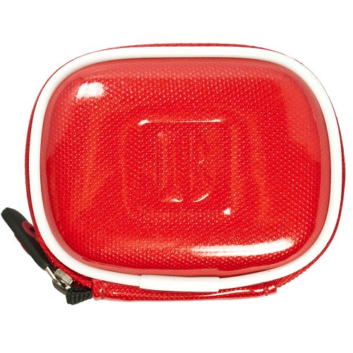 Vangoddy Compact Carrying Case For Beats Audio Urbeats / Se / Beats Tour / Powerbeats / Heartbeats Earphones (Candy Red)