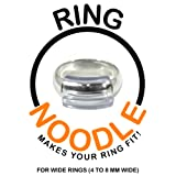 Ring Guard by RING NOODLE - 12 pack (WIDE) - Easy Ring Adjuster