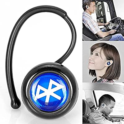 SQdeal® Fashion Mini In-ear Handsfree Stereo Bluetooth Wireless Headset Headphone Earphone for Mobile Cell Phone Laptop Tablet