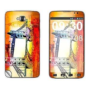 Skintice Designer Mobile Skin Sticker for LG Pro Lite D686, Design - London