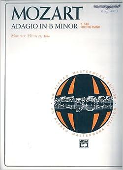 Adagio d minor piano mp3