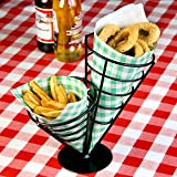 Double Cone Chip Basket - Appetiser Cones, Chip Baskets, Chip Holders, Chip Cones