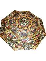 BB Designs Unisex Multi-colour Retro Marvel Comic Compact Umbrella