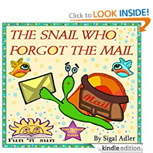 Children's Book's- The Snail Who Forgot The Mail How to teach patience The Animals Tales Collection< Values and rhymes