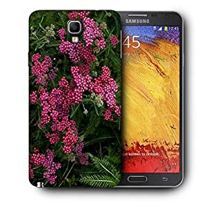 Snoogg Red And Green Flowers Printed Protective Phone Back Case Cover For Samsung Galaxy NOTE 3 NEO / Note III