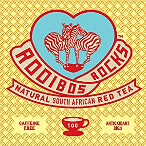 Rooibos South African Red Bush Tea Bags - 100 Count - 8.82oz - 100% Natural Organic, Caffeine Free, Sweet Tasting, Anti-Oxidant Rich, Mineral Dense, Healthy Herbal Tea. GUARANTEED! Treat Yourself! from Trading Queen, Inc