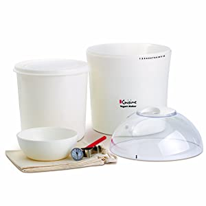 Euro Cuisine YM260 Yogurt and Greek Yogurt Maker