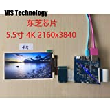 Zamtac 5.5 inch 38402160 4K LCD Screen + HDMI to MIPI Driver Controller for 3D SLA Printer NanoDLP Thingiverse TOS - (Size: Only 4K LCD) (Tamaño: Only 4K LCD)