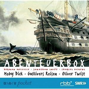 Abenteuerbox. 5 CDs: Moby Dick / Oliver Twist / Gullivers Reisen