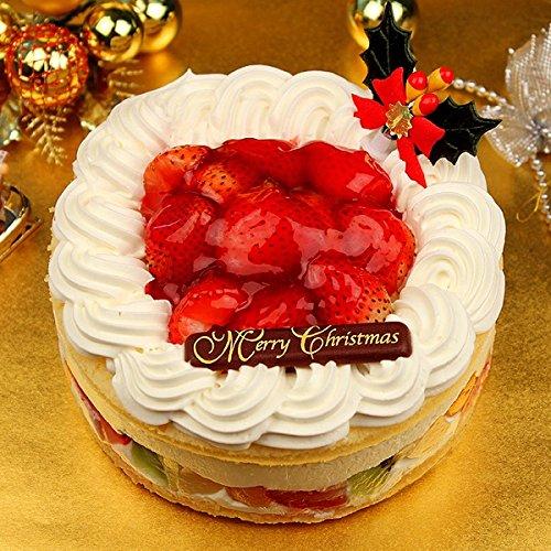 クリスマスケーキ 天使のイチゴレアチーズショートケーキ オーガニックサイバーストア