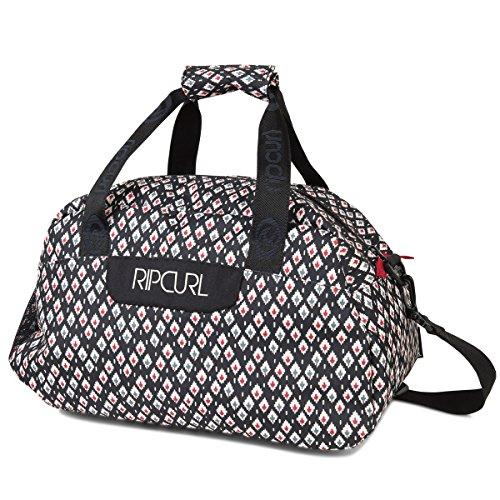 Rip Curl Oosta Weekend Bag-Borsa da donna, black, 40x 30x 5cm, 23litri, lhbbk4-90