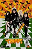 THE CRAMPS 1988 SIGNED AMERICAN CONCERT REPRODUCTION POSTER 16X12