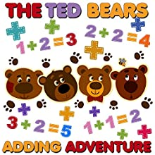 The Ted Bears Adding Adventure Audiobook by Roger William Wade Narrated by Brenda Markwell