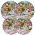 Reston Lloyd Electric Stove Burner Covers, Set of 4, Fish
