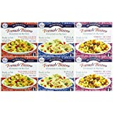 St. Dalfour Gourmet On the Go, Ready to Eat-- Variety 6 Pack (2-Wild Pink Salmon, 2-Tuna & Pasta, 2-Three Beans W/Sweet Corn)---(6 Pack X 6.2 Oz)