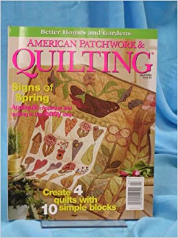 American Patchwork Quilting Magazine Better Homes And