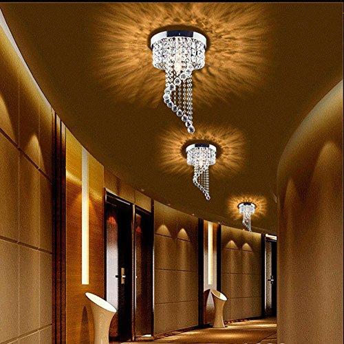 Modern led bulb ceiling light pendant crystal chandelier modern led bulb ceiling light pendant crystal chandelier read reviews aloadofball Images