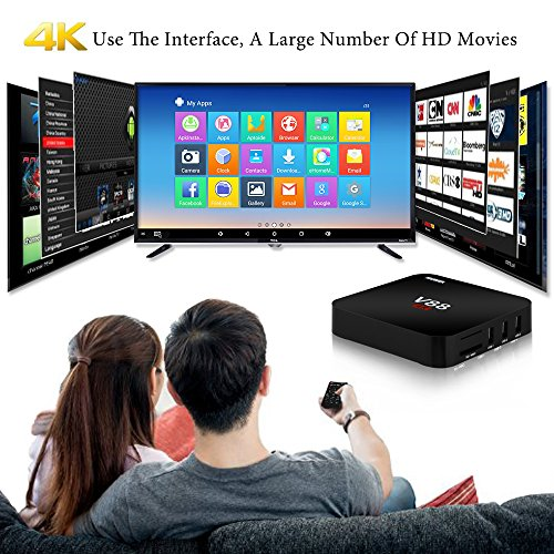 NIUBIER-Android-TV-Box-4K-Wifi-161-Kodi-Fully-Loaded-Media-Player-Sports-Movies-Internet-Streaming-box-Android-51-Quad-Core-1GB-RAM-8GB-ROM