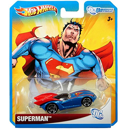2012 Hot Wheels DC Universe SUPERMAN 1:64 Scale Collectible Die Cast Car