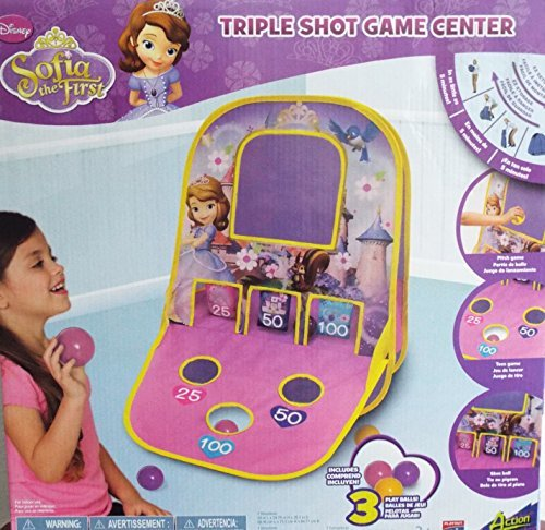 Sofia the First Triple Shot Game Center