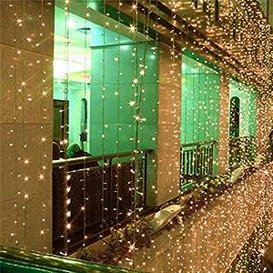 Lemonbest 6M x 3M style 600 leds LED Net Fairy light string wedding party christmas decorative lights Lamp strip rope Warm White from Lemonbest