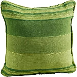 Coussin 60x60 coton unity vert pictures to pin on pinterest - Coussin tapissier 60x60 ...