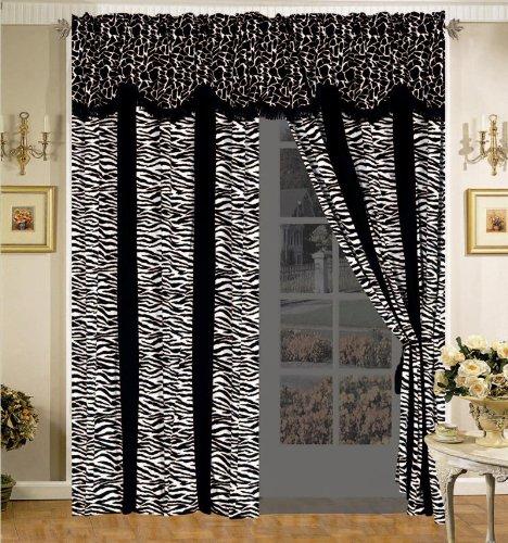 Safari Micro Suede Curtain Set front-1012657