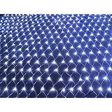 QCLED 100led Solar Powered Net Light Garden Net Lights Solar String Lights Solar Lights(White)