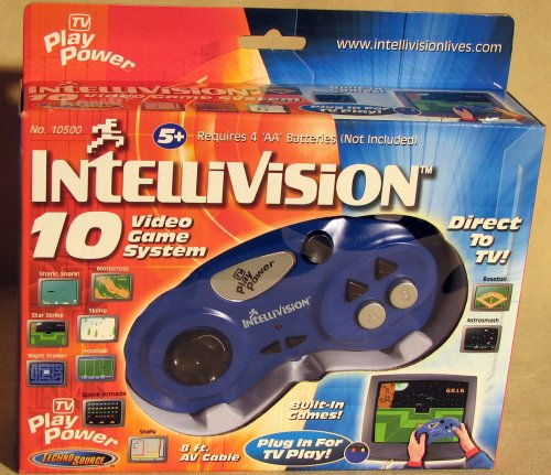 Intellivision 10 Game Video Game System - 1