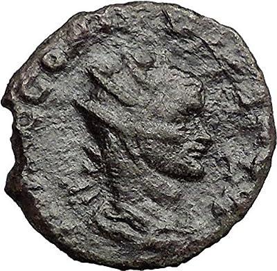 Claudius II Gothicus 268AD Ancient Roman Coin Nude Sol Sun God i33347