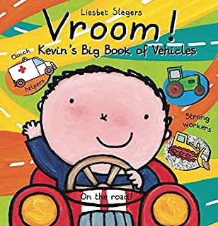 Book Cover: Vroom! Kevin's Big Book of Vehicles