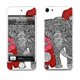 Apple iPod Touch 5th Gen Decalgirl skin - The Elephant - High quality precision engineered skin sticker for the iPod Touch 5 / 5g / 5th generation (16gb / 32gb / 64gb) latest model launched in 2012 / 2013