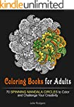 Coloring Books for Adults: 70 Spinnin...