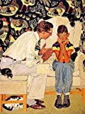 THE FACTS OF LIFE - NORMAN ROCKWELL FINE ART PRINT POSTER 30X40 CM 12X16 IN HOME DECOR BB8402B